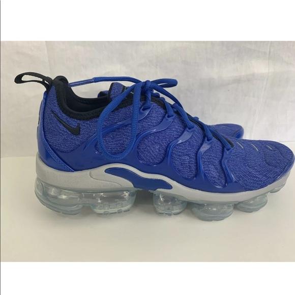Nike Air Max Vapormax Plus ROYAL BLUE Men's Sz 7.5 NWT